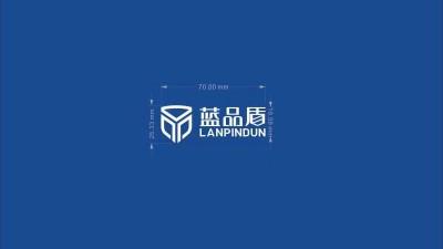 蓝品盾 建材科技行业的T恤衫