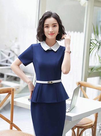 女修身时尚职业裙装